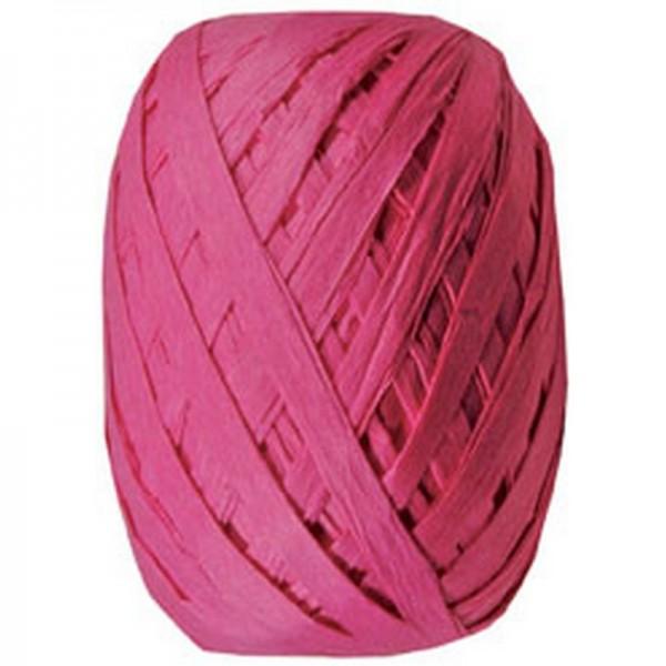 Raffiaband: pink