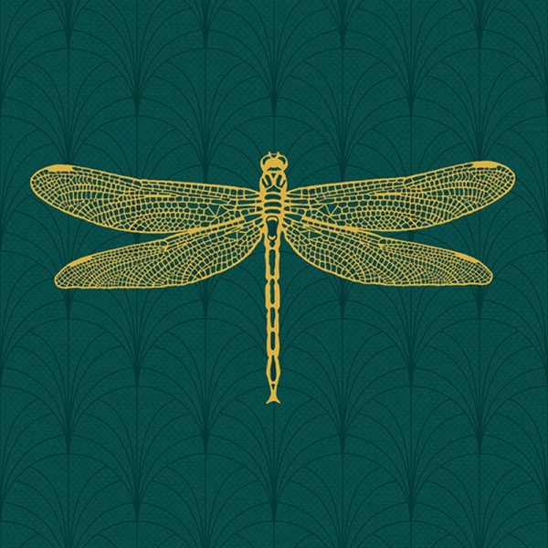 Serviette Atelier: Libella smaragd