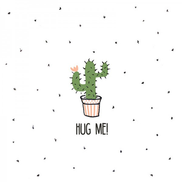 Serviette Avantgarde: Hug Me