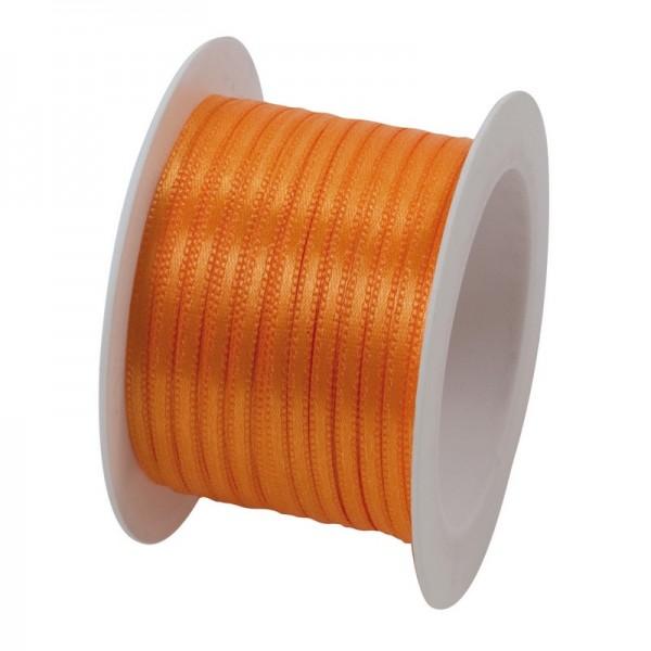 Satinband 3 mm: orange
