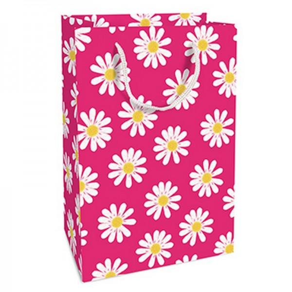 Geschenktaschen, 11 x 16 x 5 cm: DancingDaisies pink