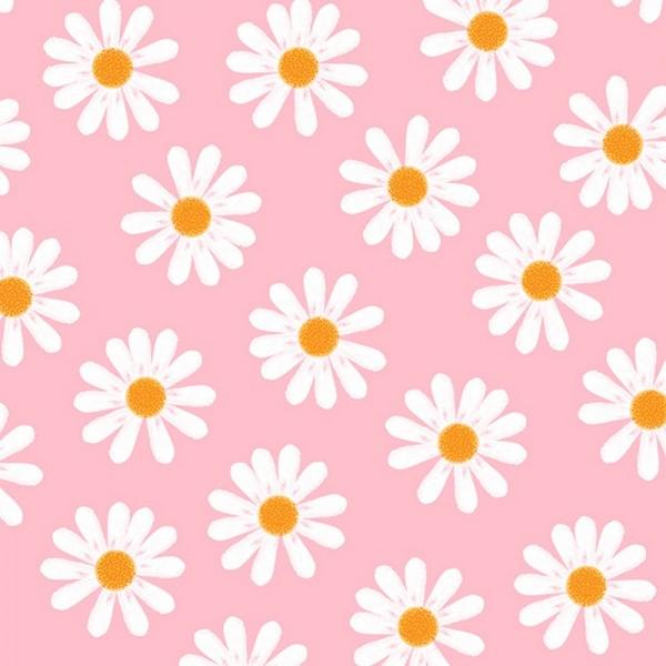 Serviette Atelier: Dancing Daisies rosa