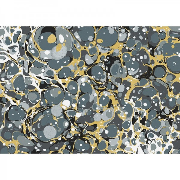 Geschenkpapier: Venice Marble grau