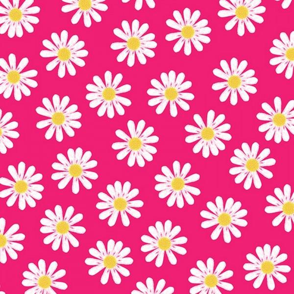 Serviette Atelier: Dancing Daisies pink