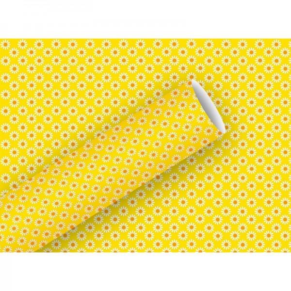 Geschenkpapier: Rosina, gelb