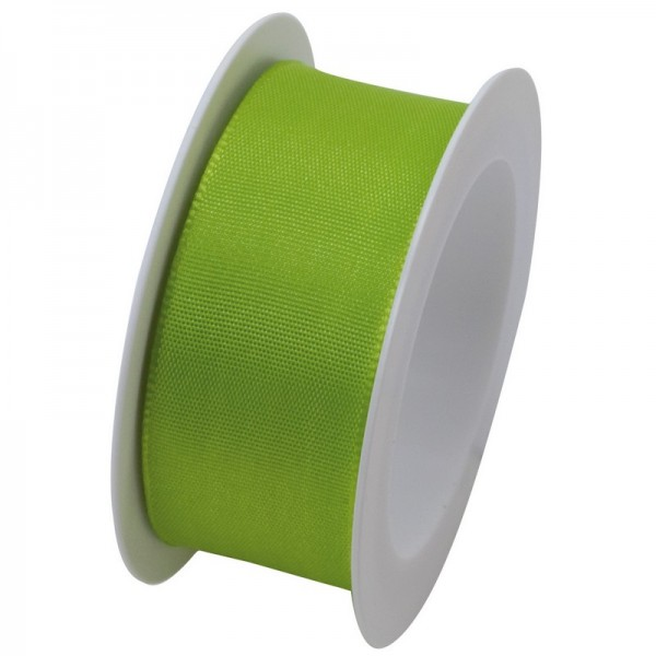Taftband 25 mm: hellgrün