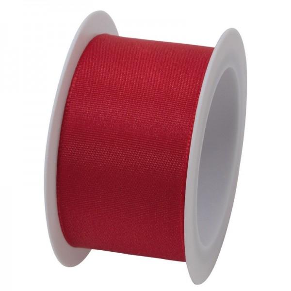 Taftband 40 mm: rot