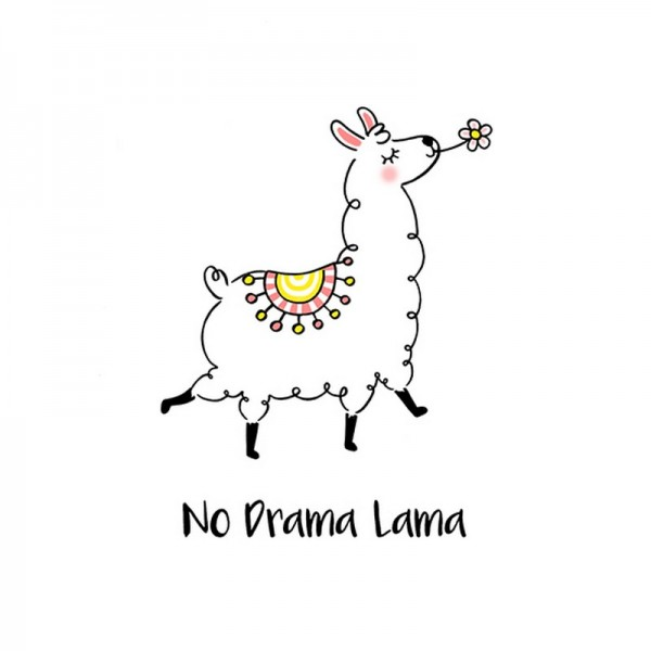 Serviette Avantgarde: Drama Lama