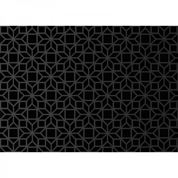 Geschenkpapier: Ornamental black velvet
