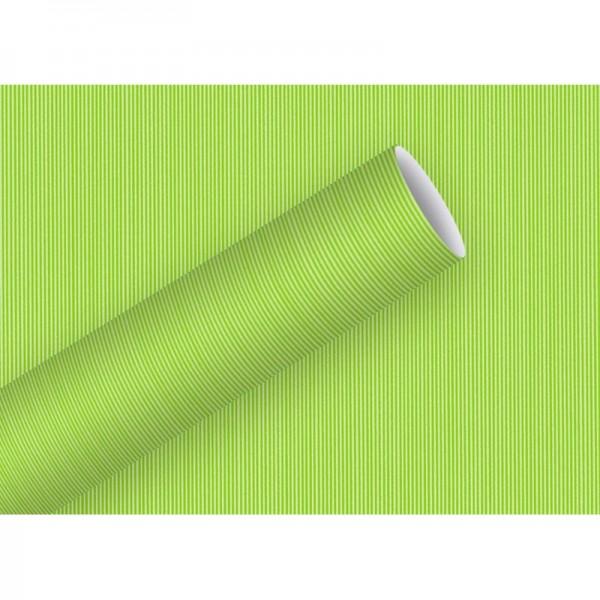 Geschenkpapier: Lignes grün