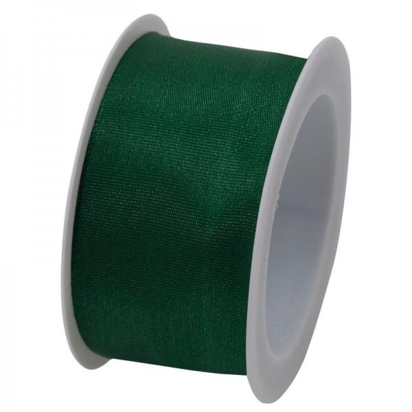 Taftband 40 mm: dunkelgrün