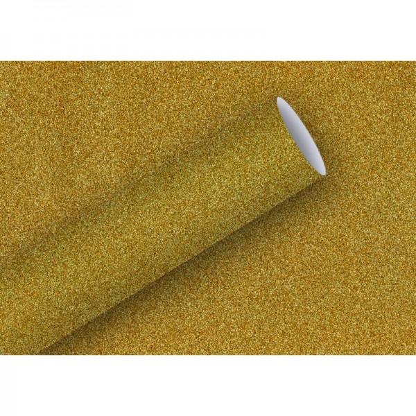 Geschenkpapier: Glimmer, gold