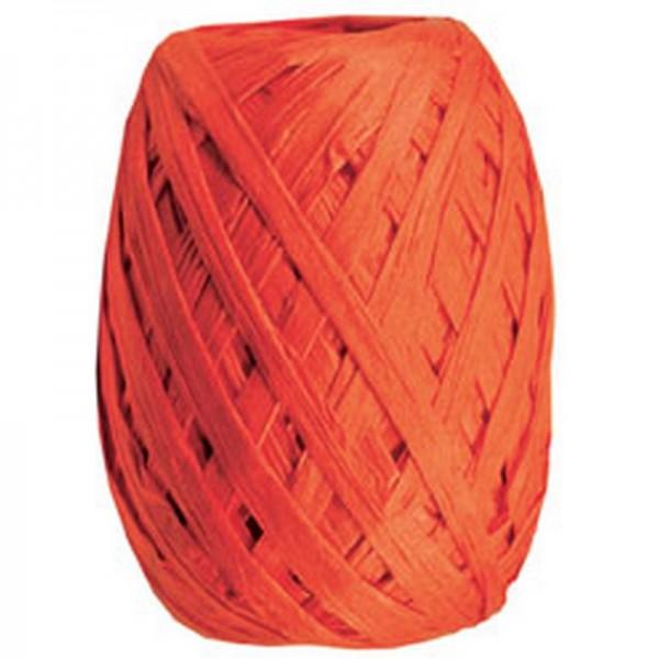 Raffiaband: orange