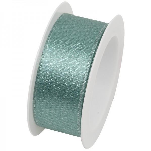 Taftband 25 mm: Brilliant mint
