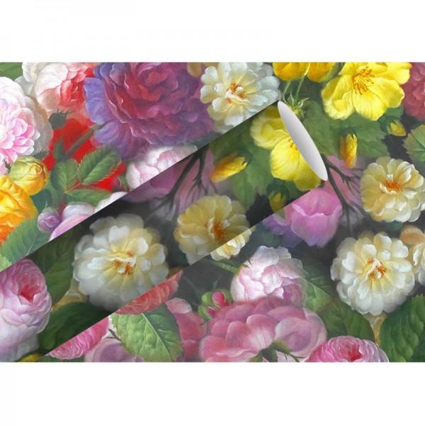 Geschenkpapier: Barock Flower
