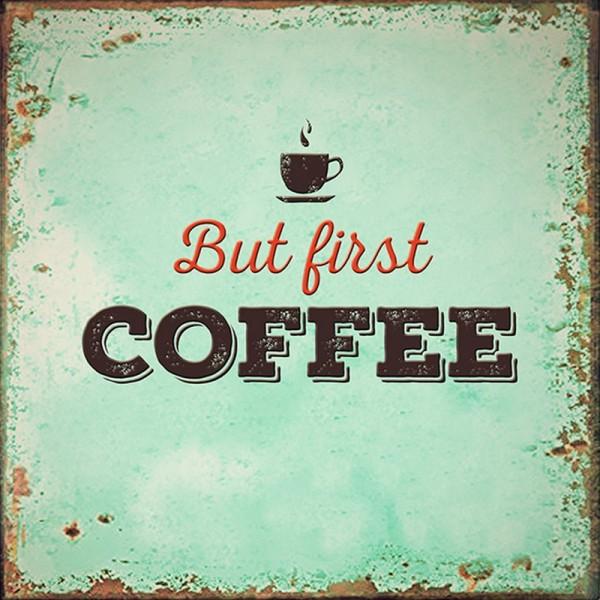 Serviette Atelier: First Coffee