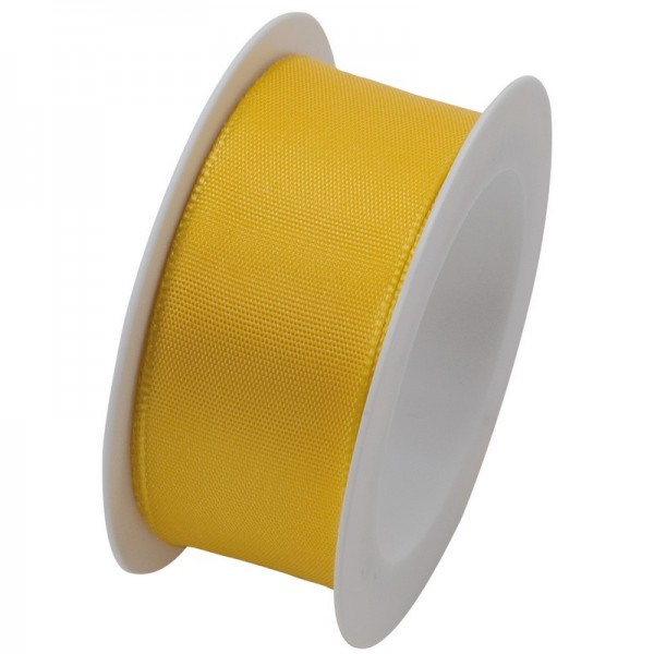 Taftband 25 mm: gelb