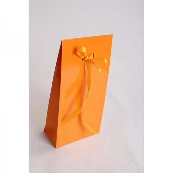 Tragetasche 14x28x7 cm orange