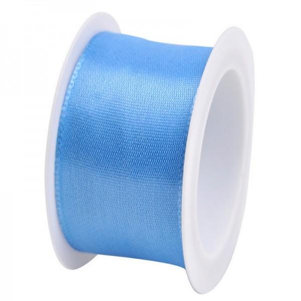 Taftband 40 mm: hellblau