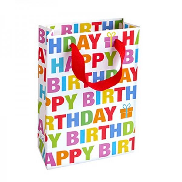 Geschenktaschen, 11 x 16 x 5 cm: Colour Birthday