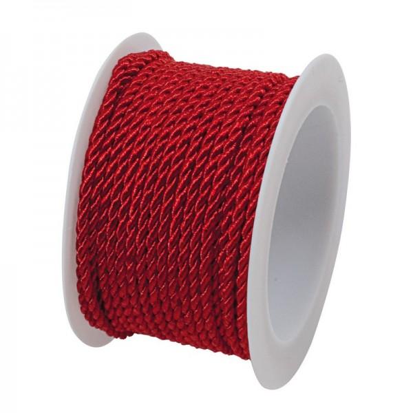 Kordel 2 mm: rot