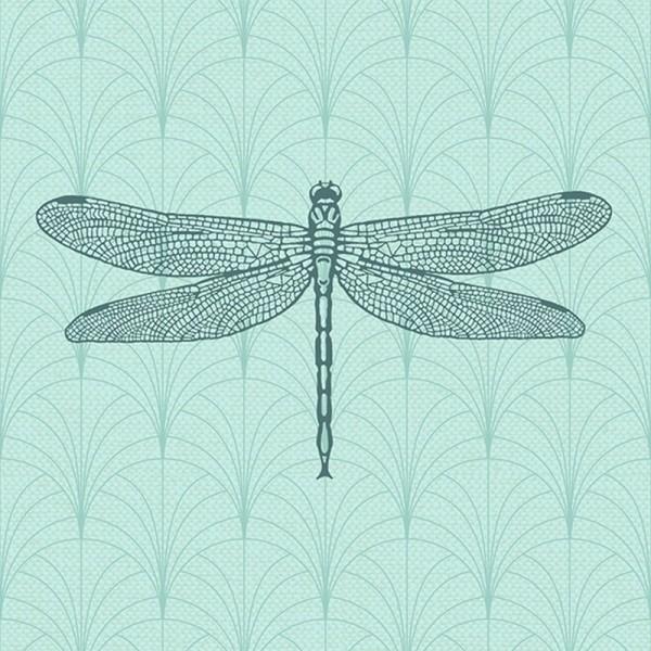 Serviette Atelier: Libella mint