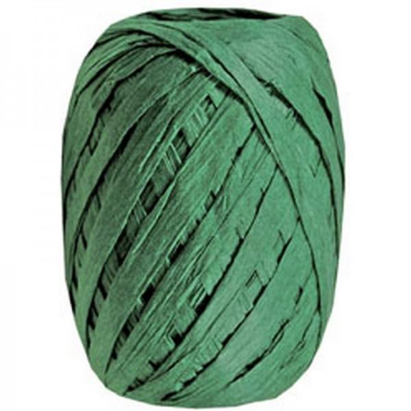 Raffiaband: dunkelgrün