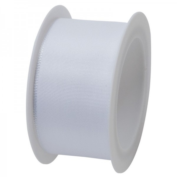 Taftband 40 mm: weiß