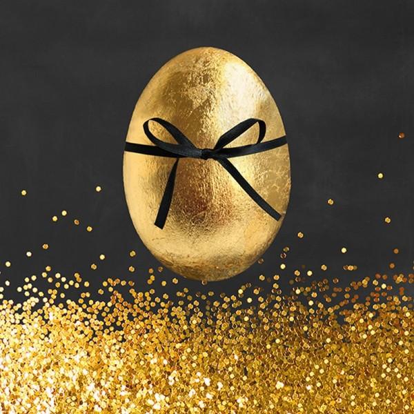 Serviette Atelier: Golden Surprise